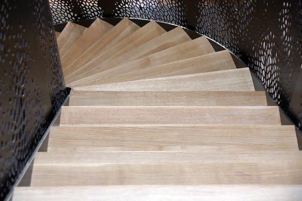 E. Pearce Revisited Stair. Photo: T.G. Olcott