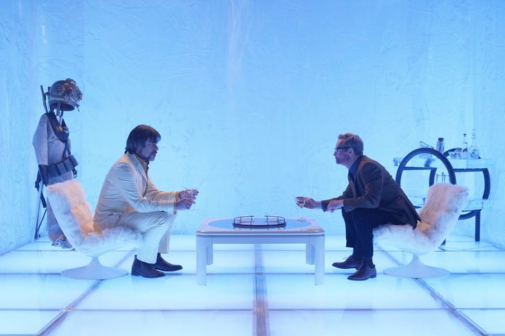 Bill Irwin as Cary Loudermilk and Jemaine Clement as Oliver Bird in the Astralplane, 'Chapter 7.'