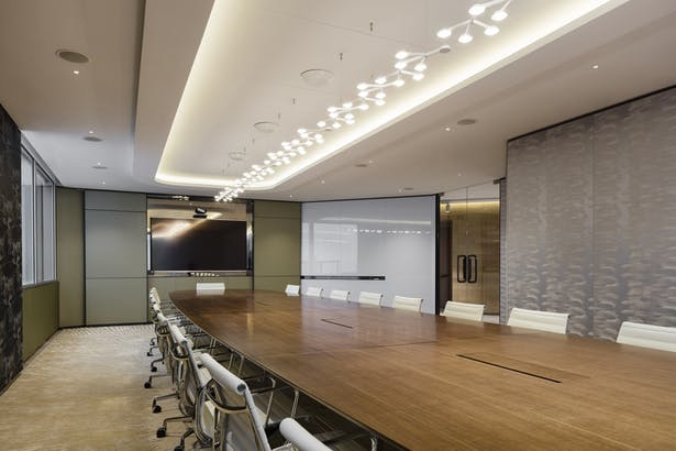 VMS Investment Group Headquarters, Hong Kong, by Aedas Interiors - Conference Room
