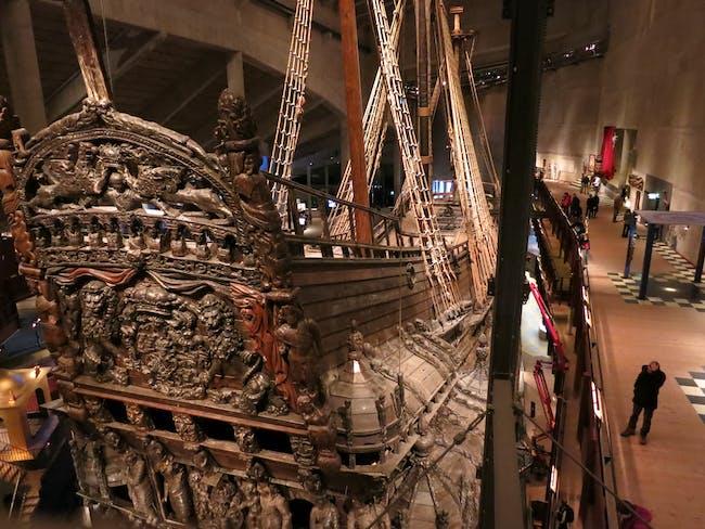 Vasa Museum, Interior