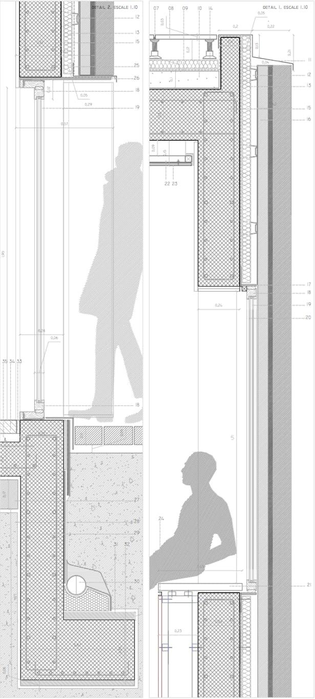 details of facade
