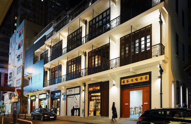 Aedas' Revitalisation Project at Mallory Street/Burrows Street, Wan Chai, Hong Kong. Photo courtesy of Aedas