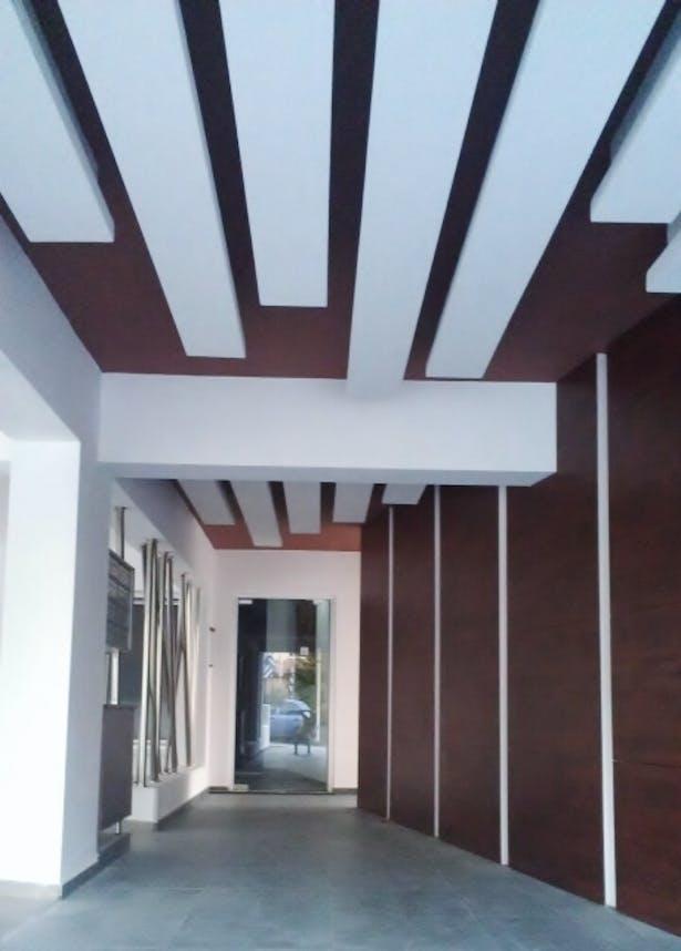 apartment building lobby design agni pavlidou kyprianou archinect. Black Bedroom Furniture Sets. Home Design Ideas