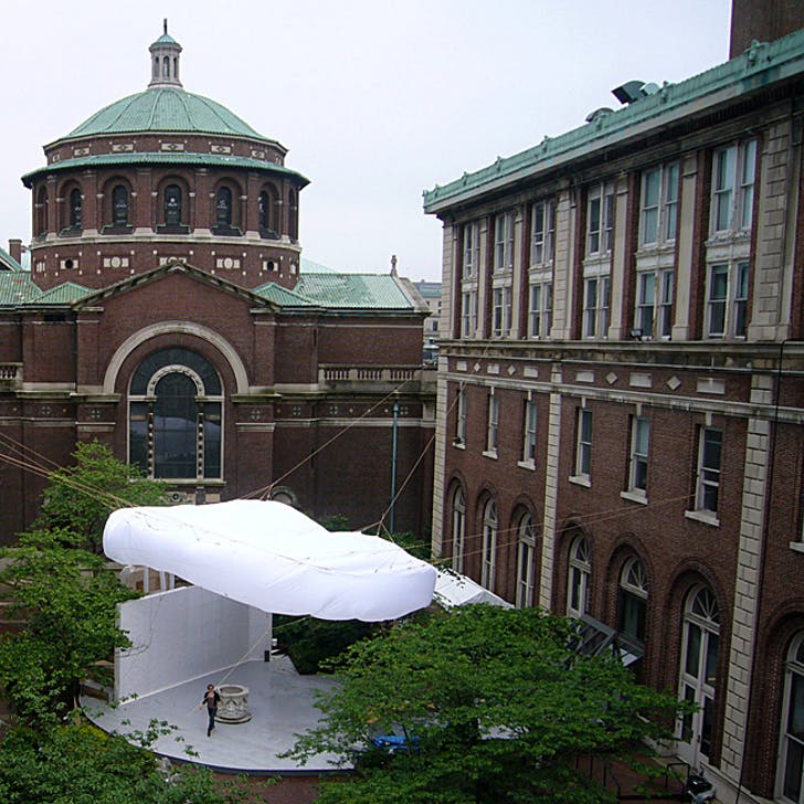 'BOB' installation on Columbia's campus. Image via archinect.com.