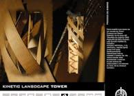 Kinetic Landscape Tower