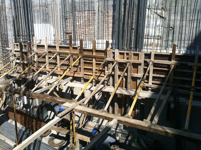 foundations+columns