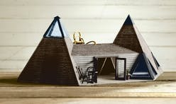 """Birdbnb"" exhibits elaborate birdhouse replicas of over 50 Airbnb listings"