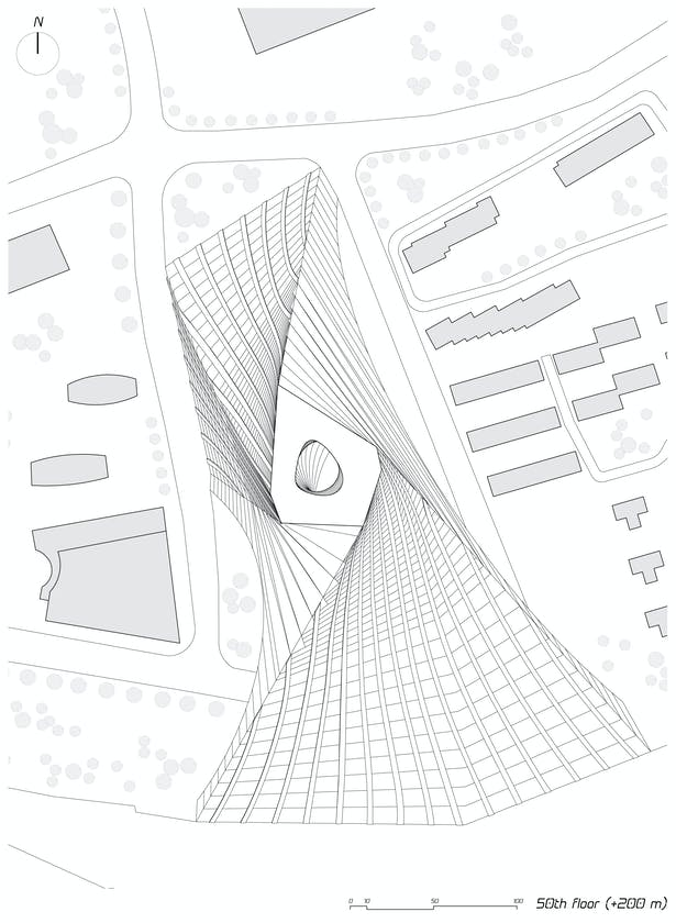 50th floor plan