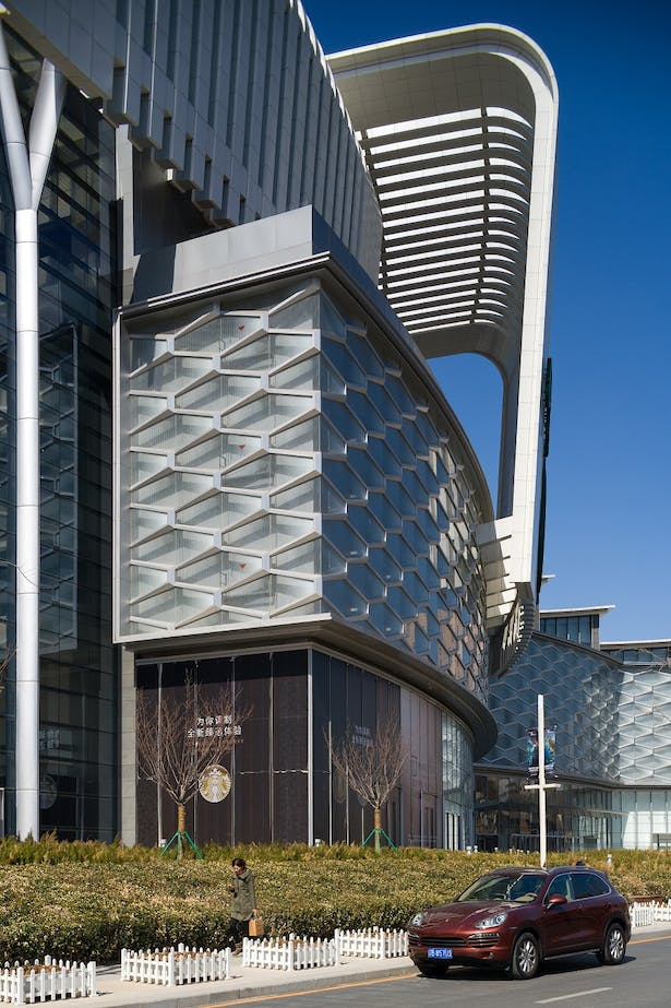 Olympia 66 in Dalian, China by Aedas - Facade