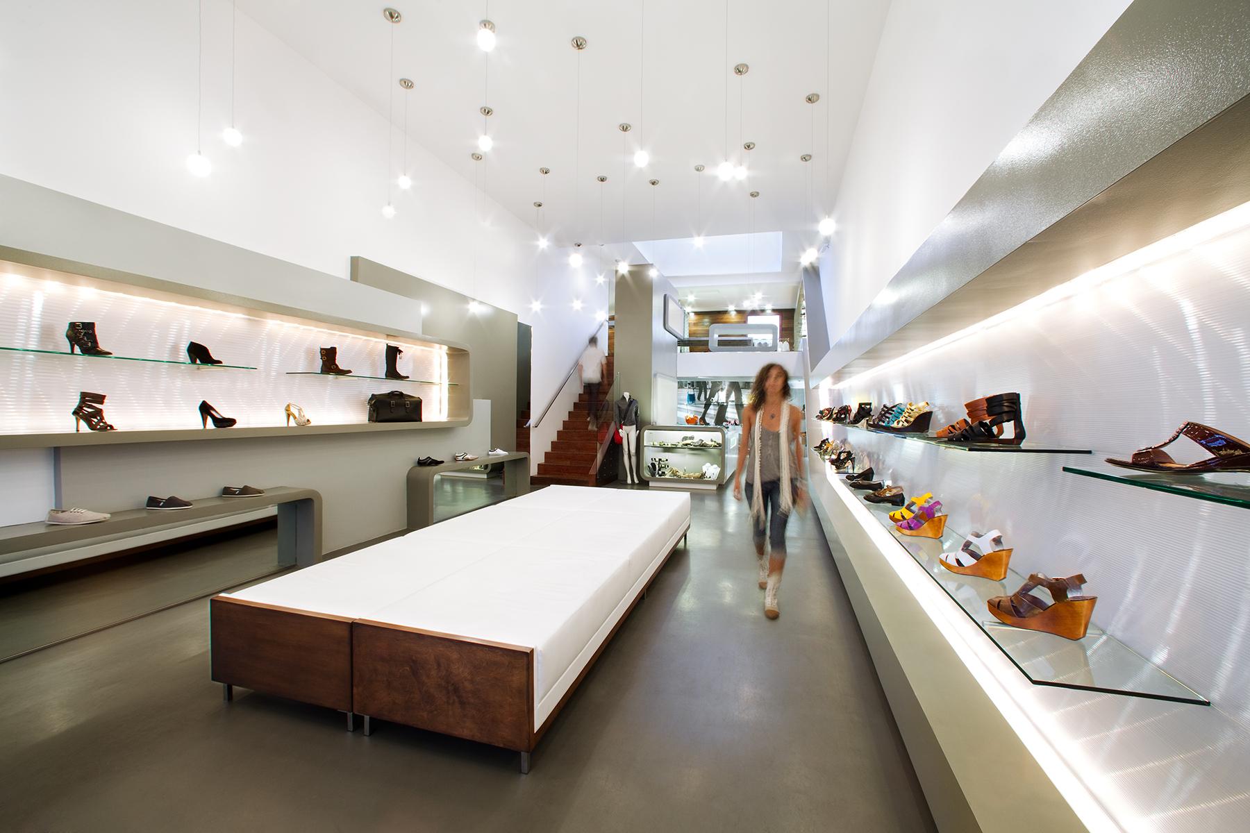 Sway Shoe Store | Josh Blumer | Archinect