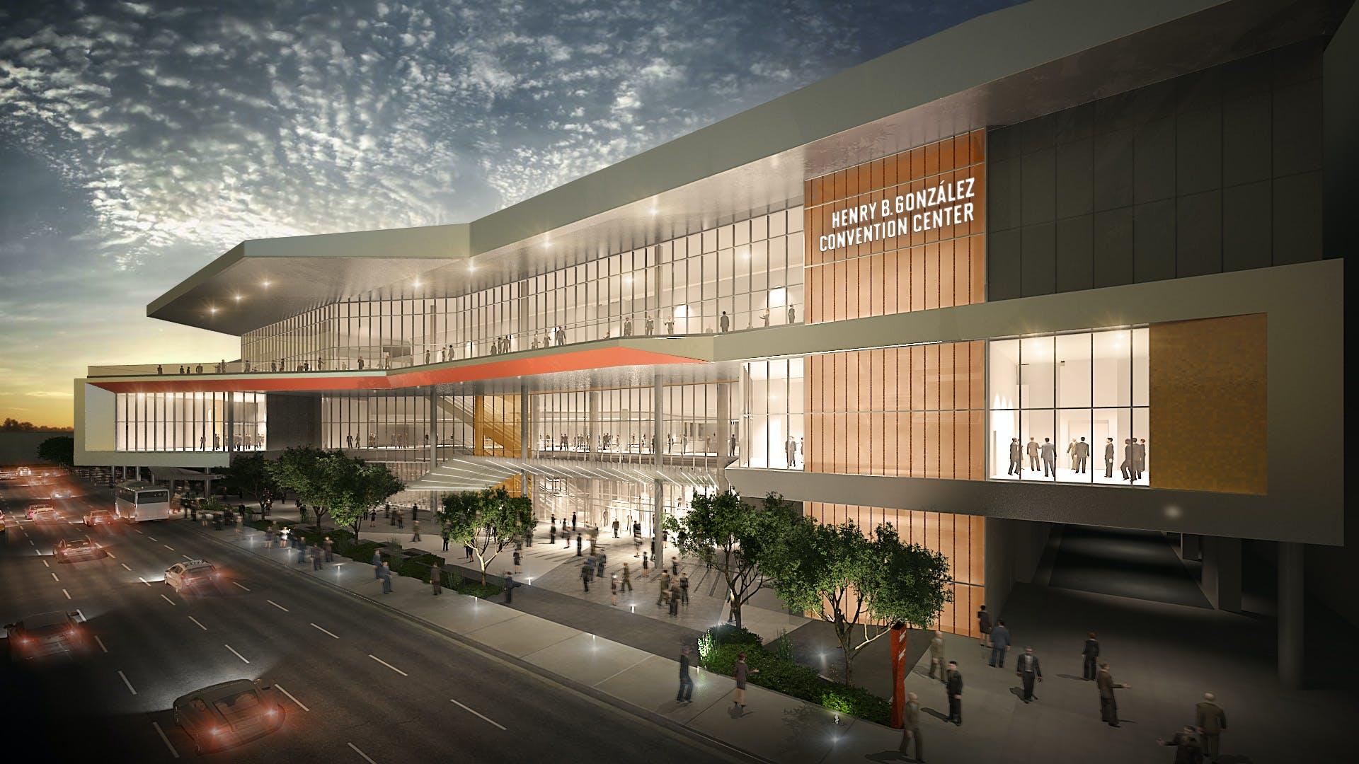 Henry B Gonz 225 Lez Convention Center Expansion Marmon Mok