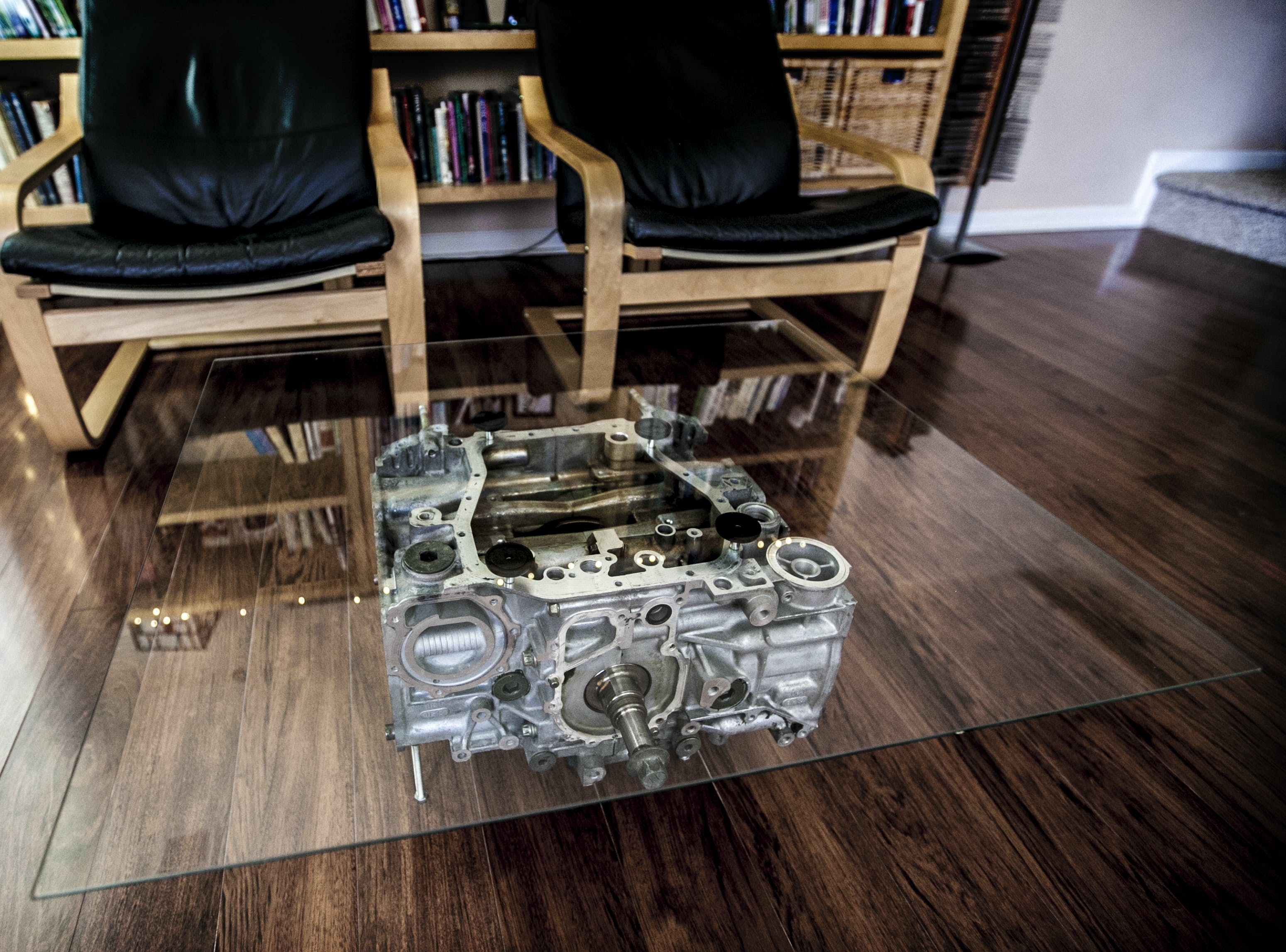 Engine Block Coffee Tables Martin Ronaszegi