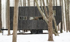 """Startup """"Getaway"""" rents out tiny modern houses in the woods for urbanites to escape"""