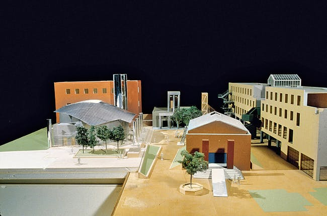Model for Loyola Law School. Image courtesy of LACMA