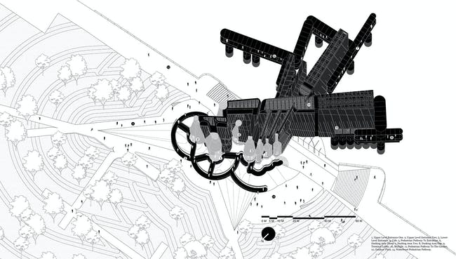 Perspectival Floor Plan (Image: Preliminary Research Office)