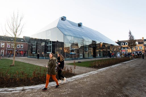 The Glass Farm at Schijndel market square designed by MVRDV (Photo: Persbureau van Eijndhoven)