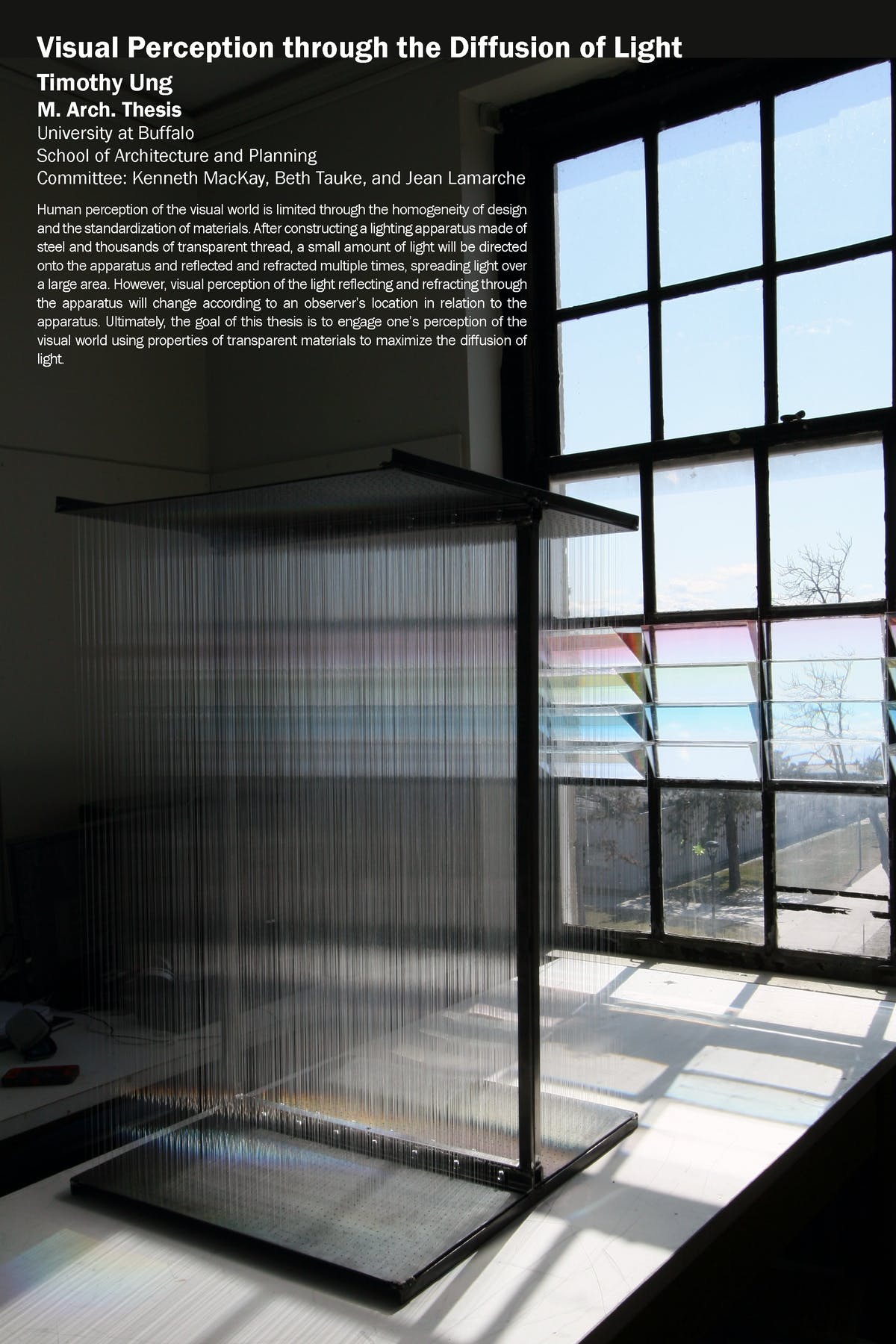 Master's Thesis: Visual Perception through the Diffusion of Light