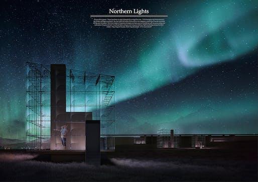 'Northern Lights' by Catarina Oom de Sousa, Carla Romagosa Girós, and Eftalia Proios Torras. Image: Bee Breeders.