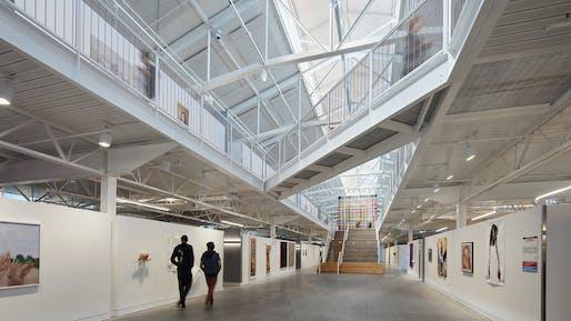 San Francisco Art Institute - Fort Mason Center Pier 2; San Francisco | Leddy Maytum Stacy Architects. Photo: Bruce Damonte.