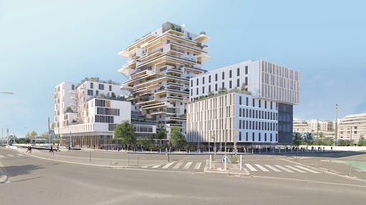 "The city of Bordeaux has pledged to ramp up its timber construction, including the 18-story <a href=""https://archinect.com/news/article/149935481/two-wooden-towers-to-rise-in-bordeaux"">Tour Hypérion</a> by Jean-Paul Viguier & Associés."
