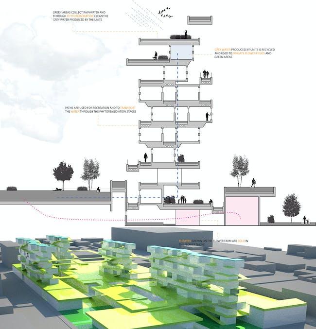 Design for the San Francisco Flower Market (Cesar Arellano)