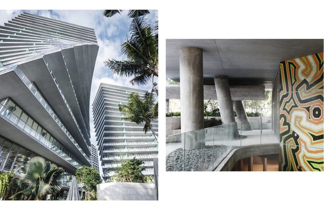 Finalist in 'Residential Architecture-Multi-Unit:' The Grove at Grand Bay, Miami, U.S. by Bjarke Ingels Group