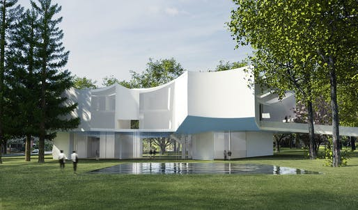 Rendering courtesy of Steven Holl Architects.