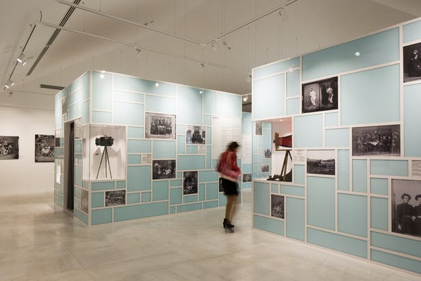 permanent exhibition area