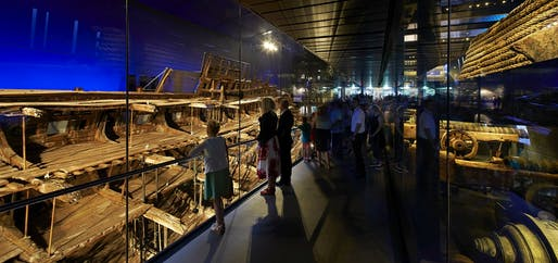 Civic, Culture & Transport Winner: Perkins+Will, Mary Rose Museum, Portsmouth, United Kingdom.
