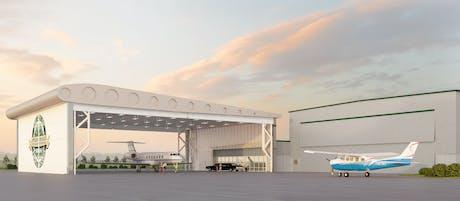 Arrivals Canopy - GA Terminal