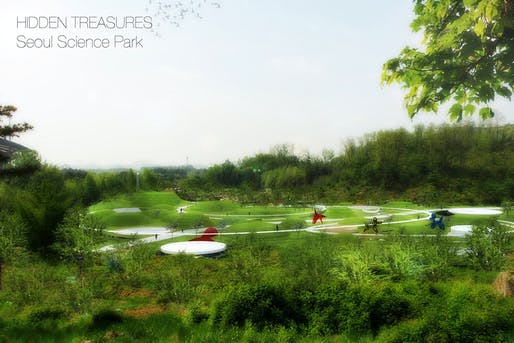 Honorable mention entry: 'Hidden Treasures - Seoul Science Park' by Stefano Corbo.