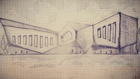 State Pavilion Sketch Design