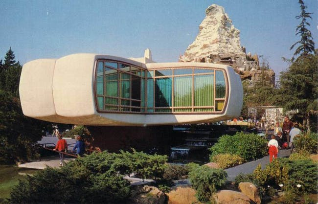 Monsanto's 'Home of the Future' at Disneyland. Image via flickr/brunurb.