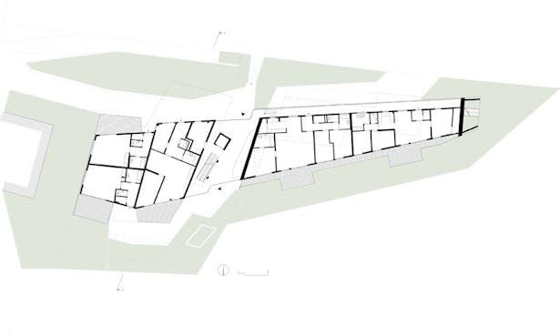 ground floor plan © HOLODECK architects