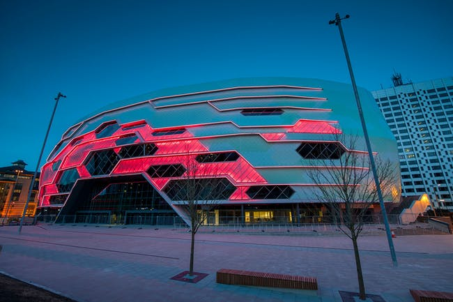 Award for Sports and Leisure Structures: First Direct Arena