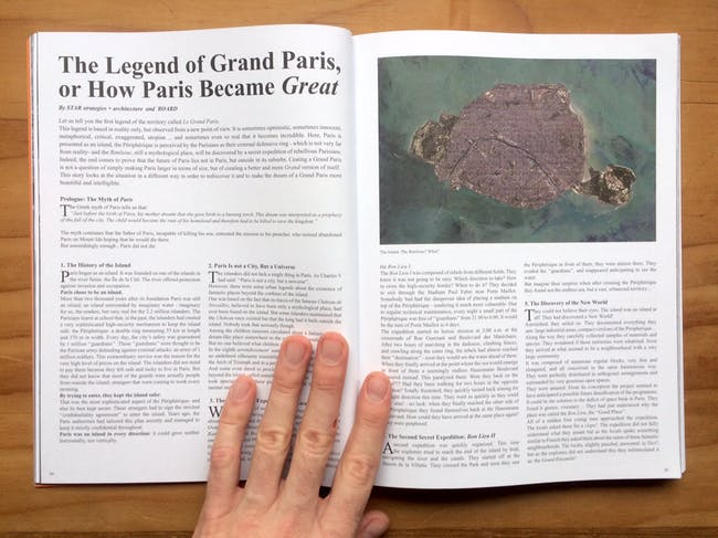 The Legend of Grand Paris, or How Paris Became Great by STAR strategies + architecture and BOARD