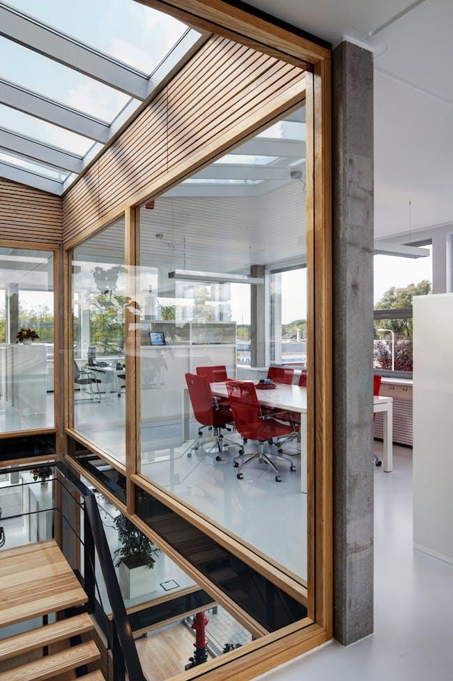 Qualm HQ in Rozenburg, the Netherlands by Sputnik Architecture Urbanism Research; Photo: René de Wit