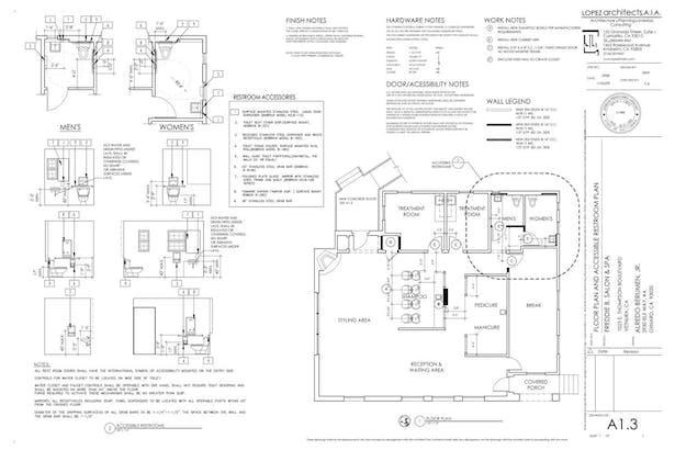 Floor Plan and Accessibility Details