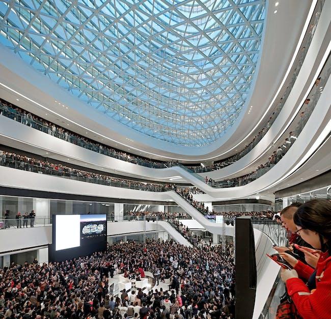 Galaxy Soho, Beijing, China by Zaha Hadid Architects; Photo: Hufton + Crow