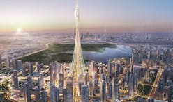 """A notch taller"" than Burj Khalifa: check out these new renderings of Santiago Calatrava's megatall Dubai tower"