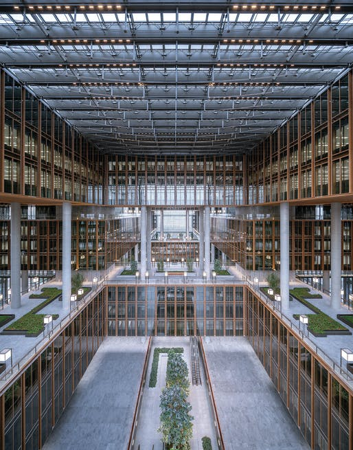Asia Financial Center & AIIB Headquarters. Photo: CreatAR Images.