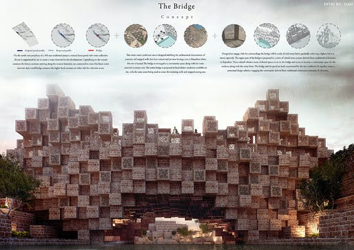 Infrastructure - Future Projects Winner: Sanjay Puri Architects, The Bridge, Ras, India.