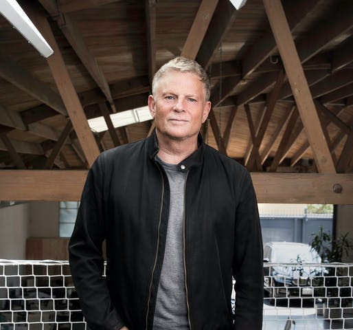 Lorcan O'Herlihy, FAIA, Founder and Design Principal of LA-based Lorcan O'Herlihy Architects [LOHA] is this year's Gold Medal recipient. Photo © Colin Lenton.