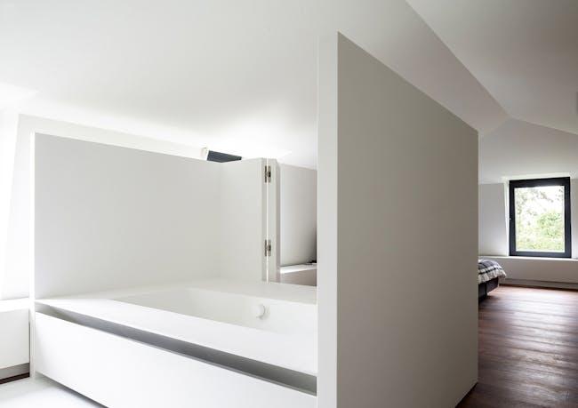 Attic - loft renovation in Cremona, Italy by Arrigo Strina Architect