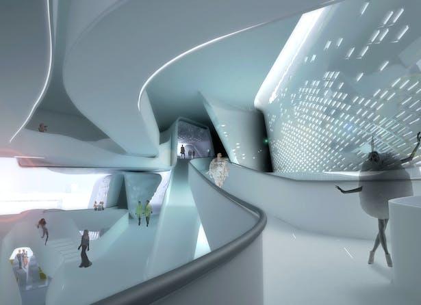 Interior ramps
