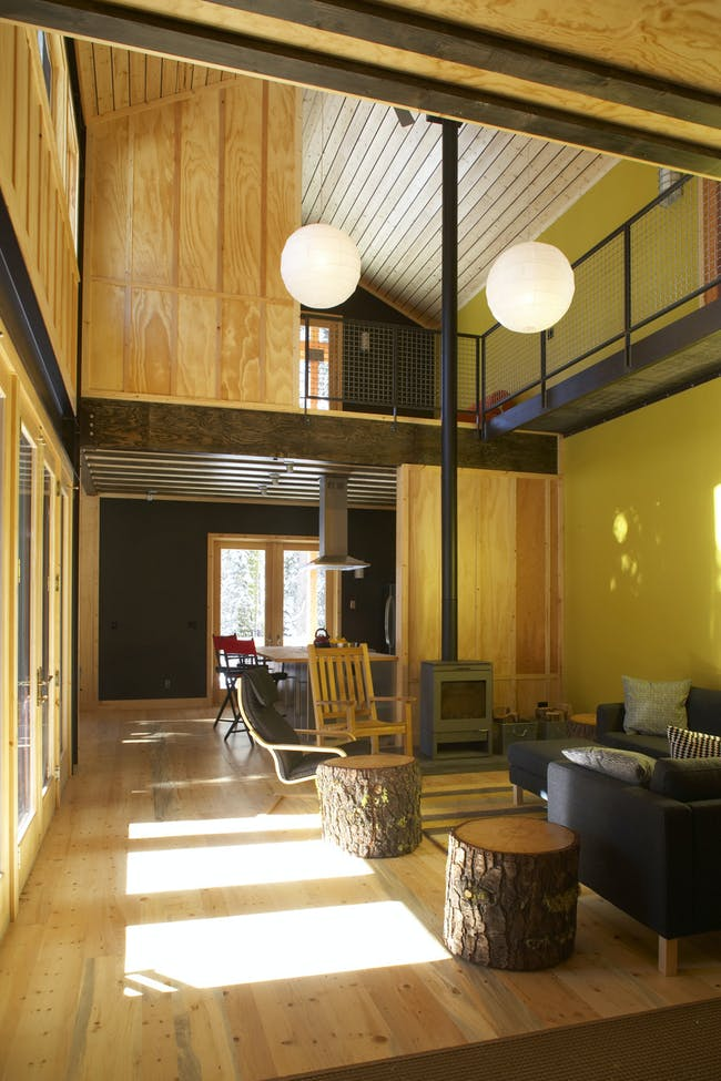 Lodgepole Pine House in Soda Springs, CA by Anne Phillips Architecture (team member: Winston Win)