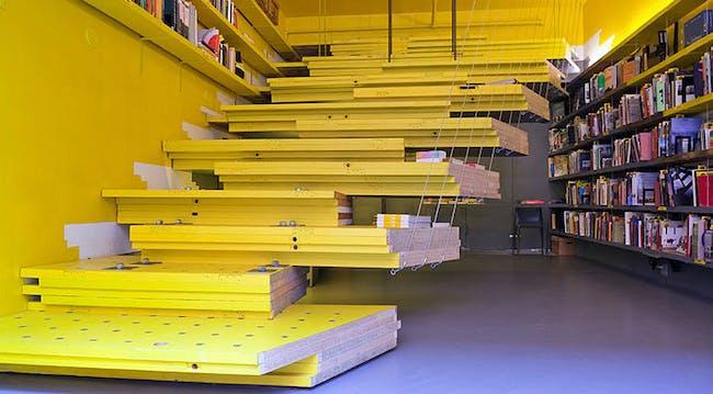 Van Alen Books, New York City's Architecture and Design Bookstore. Photo: Danny Bright
