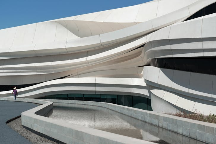 Museum of Contemporary Art (MOCA) Yinchuan, China, by waa (we architech anonymous). Image © NAARO