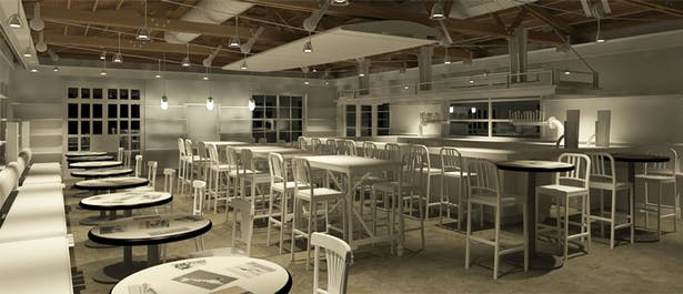 Students' Pub / White