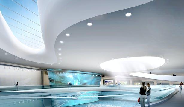 Planning Exhibition Center Interior 1
